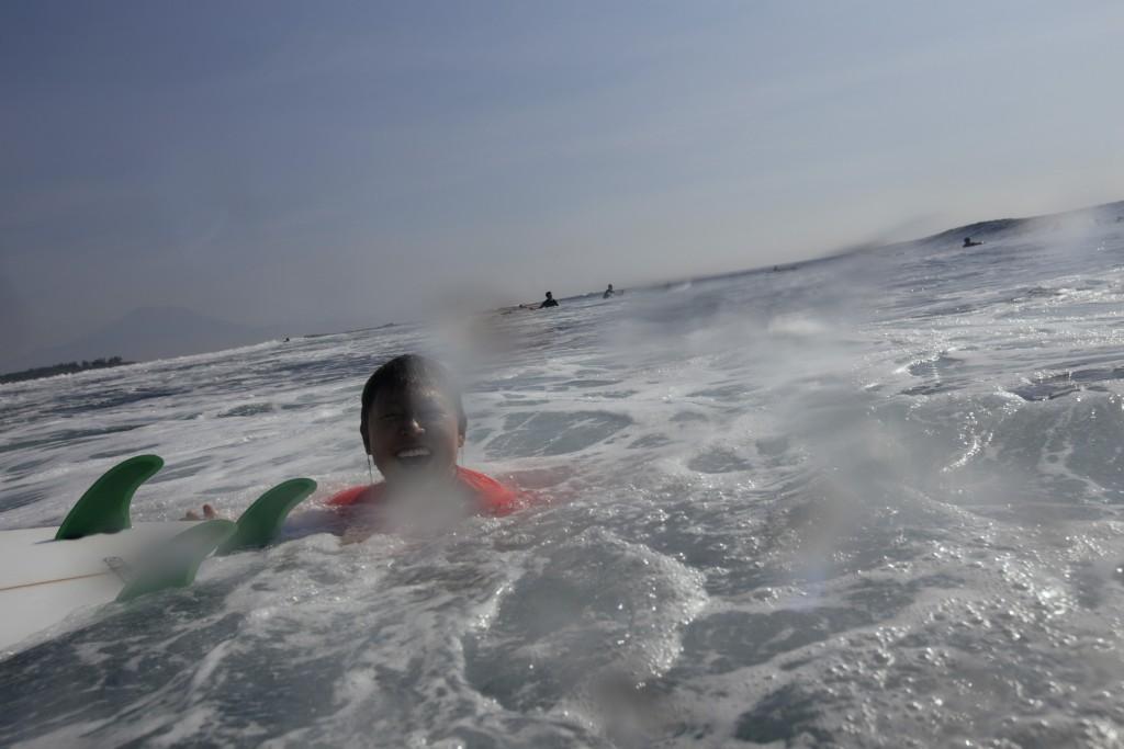 [서핑사진] 물 속에서 만나는 바루서프 캠퍼들. 1. 19