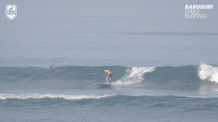 [서핑영상] 롱보드 서핑은 발리 바투볼롱에서~!