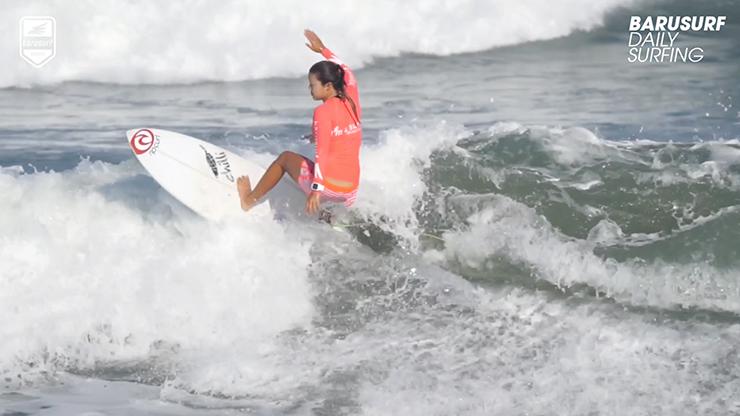 [서핑영상] 굿모닝 꾸따~! 바루서프는 오늘도 서핑 중